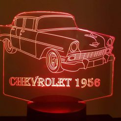 1956 Chevrolet 3D Illusion Led Lamp