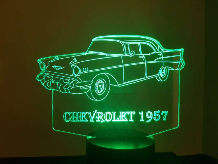 1957 Chevrolet 3D Illusion Led Lamp