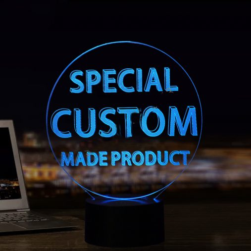 Personalized 3D Illusion lamp
