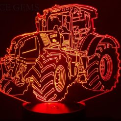 Claas Tractor 3D Illusion Led Lamp