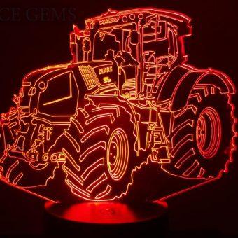 Claas Traktor 3D Illusion Led Lampe