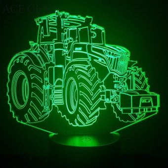 Fendt Traktor 3D Illusion Led Lampe