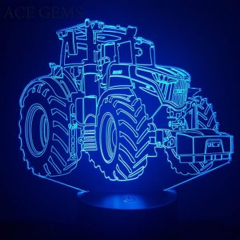 Fendt Thalakitala 3D Illusion Led Lamp