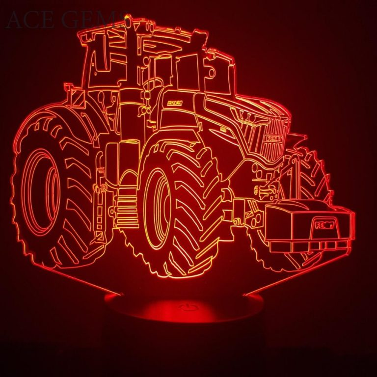 Fendt Tractor 3D Illusion Led Lamp