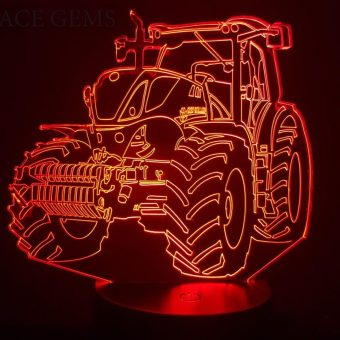 New Holland Tractor 3D Illusion Led Light
