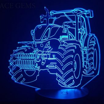 New Holland Traktor 3D Illusion LED-Leuchten