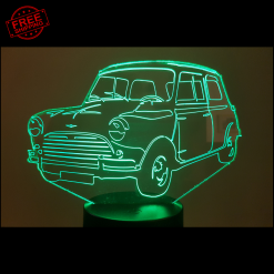Mini Cooper S 1275 3D Illusion Lamp