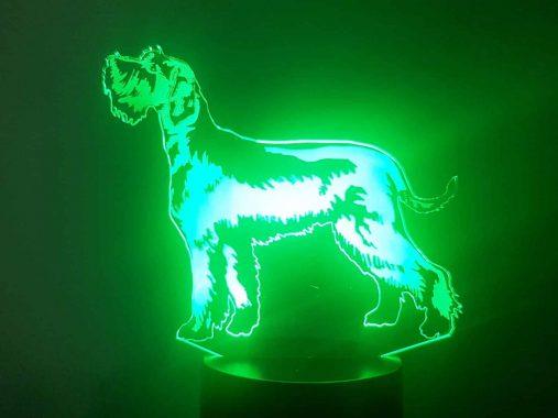 Schnauzer 3D Illusion Lamp