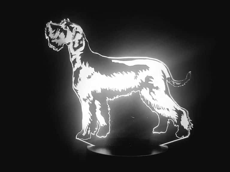 Schnauzer 3D Illusion Lamp