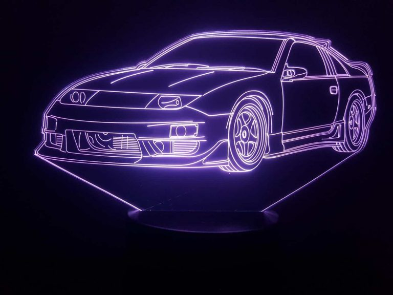 Nissan 300ZX 3D Illusion Lamp