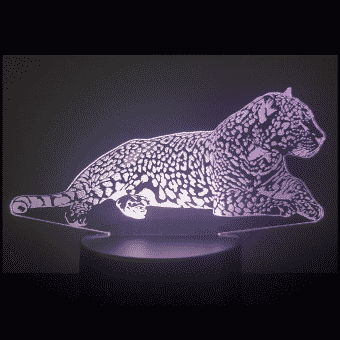 Lámpara Jaguar 3D Illusion