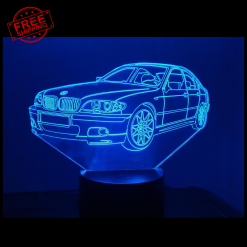 BMW E320 E46 3D Illusion Lamp