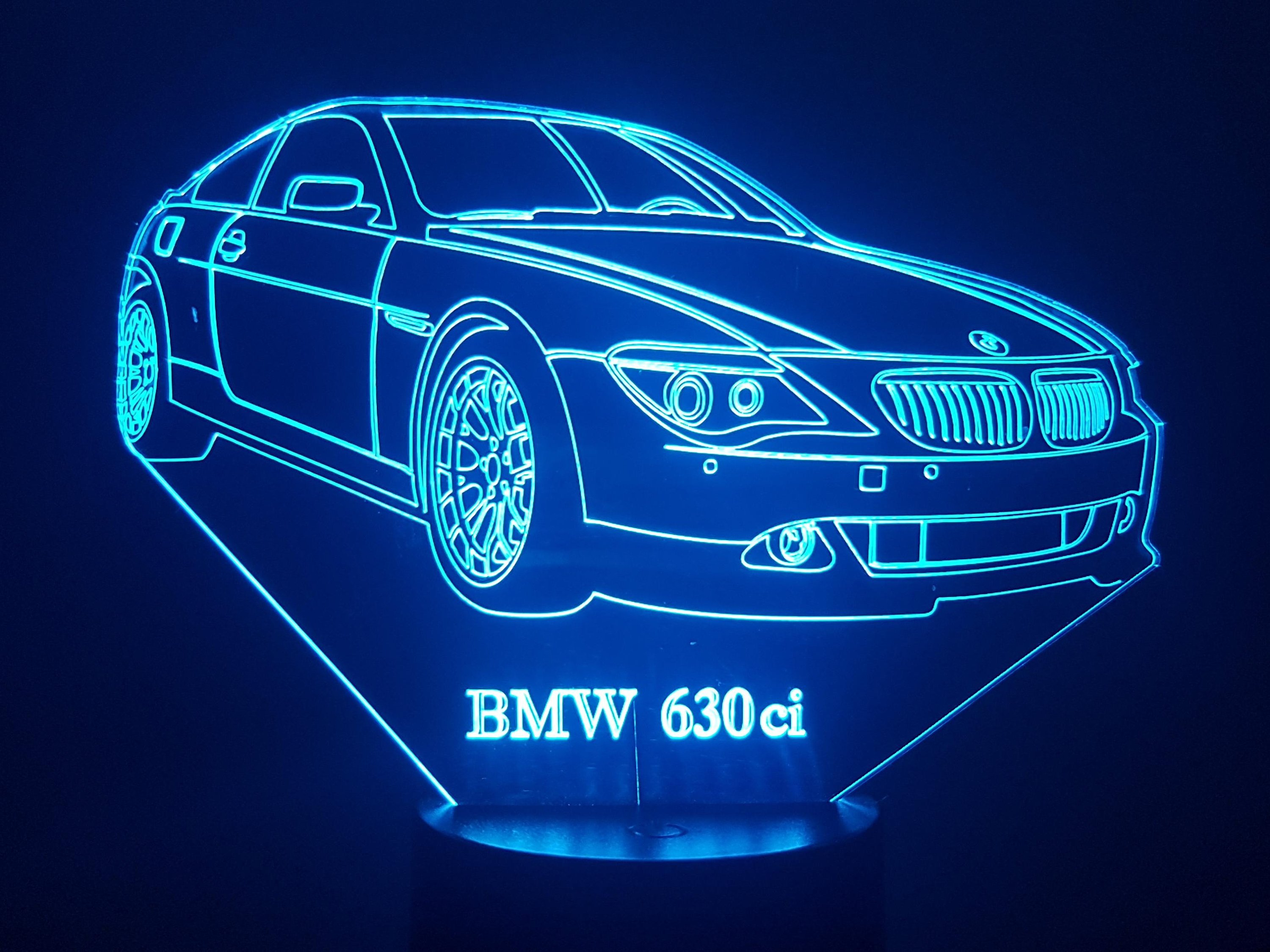 BMW 630 3D Illusion Lamp