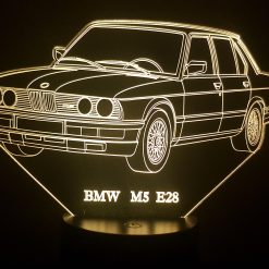 BMW M5 E28 3D Illusion Lamp