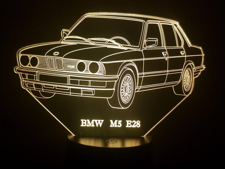 BMW M5 E48 3D Illusion Lamp