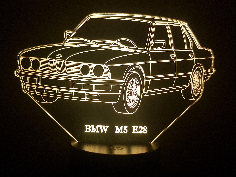 BMW M5 E48 3D Illusion Lamp
