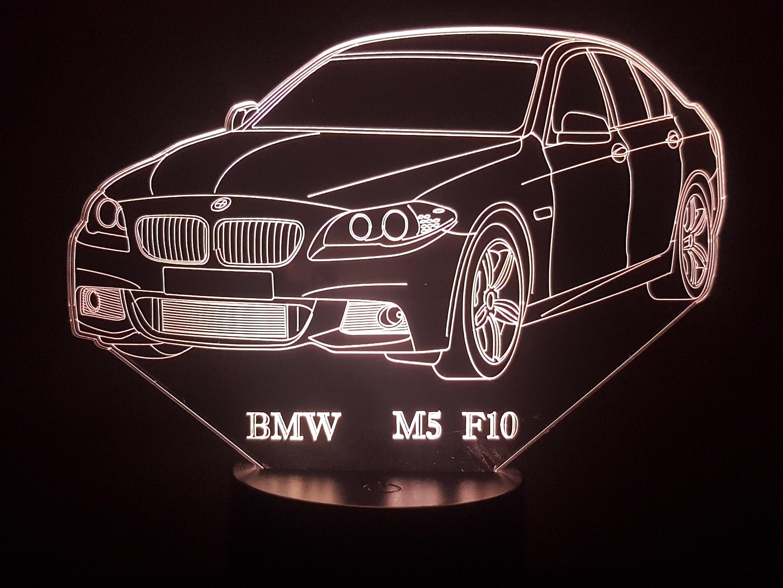 BMW M5 F10 3D Illusion Lamp
