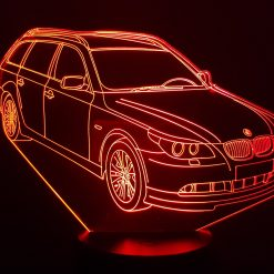 BMW M5 Touring 3D Illusion Lamp
