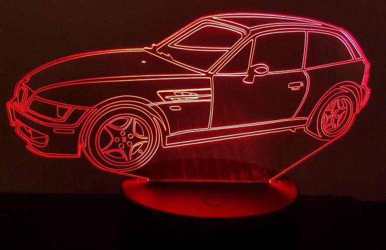 BMW Z3 Coupe 3D Illusion Lamp