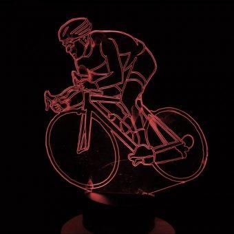 Radfahren 3D Illusion Led Lampe