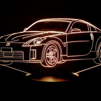 Nissan 350Z 3D Illusion Lamp
