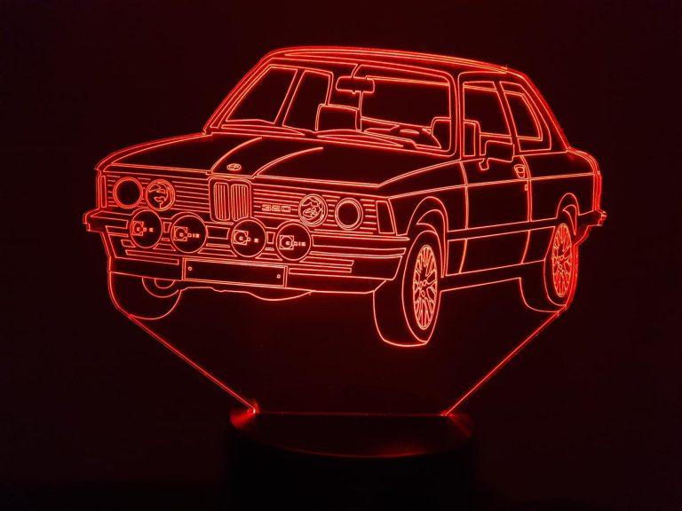 BMW E320 E21 3D Illusion Lamp