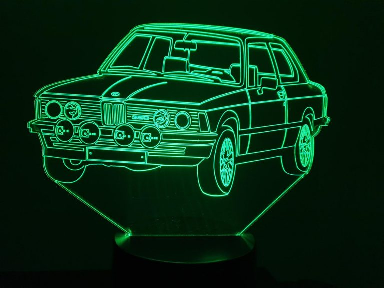 BMW E320 E21 3D Illusion Lamp