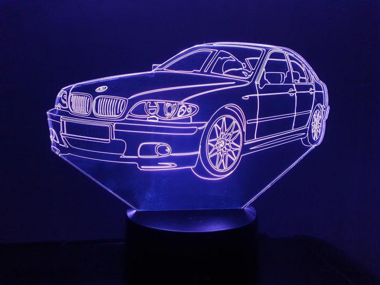BMW E320 E46 3D Illusion Lamp