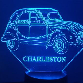 2CV Charleston 3D Illusion Lamp