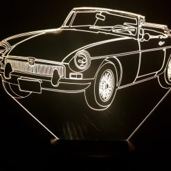 MG MGB 3D Illusion Lamp