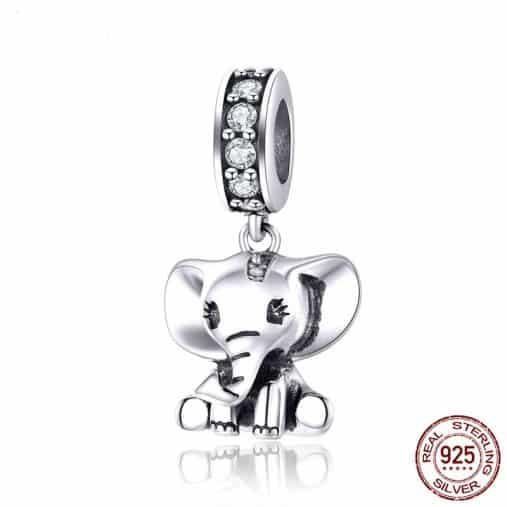 Baby Elephant Charm
