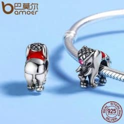 s925 Lucky Elephant Beads