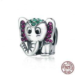 Colorful Elephant Beads