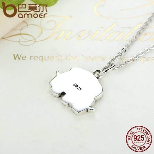 Mother and baby Elephant Necklace