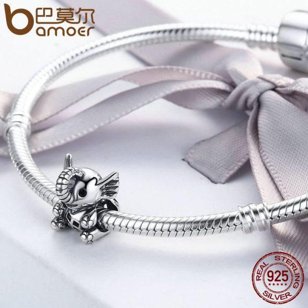 S925 Baby Elephant Beads