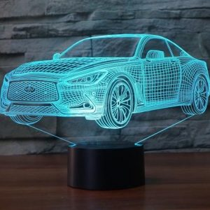 INFINITI Q60 3D Illusion Lamp