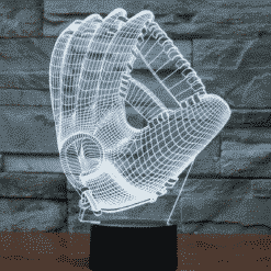 Baseball Gloves 3D Illusion Lamp
