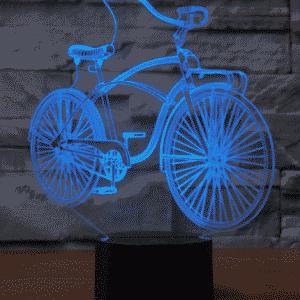 Bicycle 3D Illusion Lamp