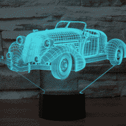 Auburn speedster 851 1935 (desert studio3) D Illusion Lamp