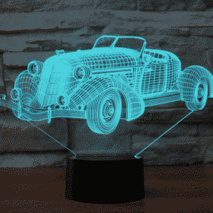 Auburn speedster 851 1935 (desert studio) 3D Illusion Lamp