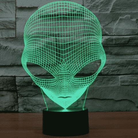 Alien 3D Illusion Lamp