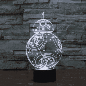 BB8 3D Illusion Lamp