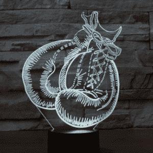Boxing 3D Illusion Lamp