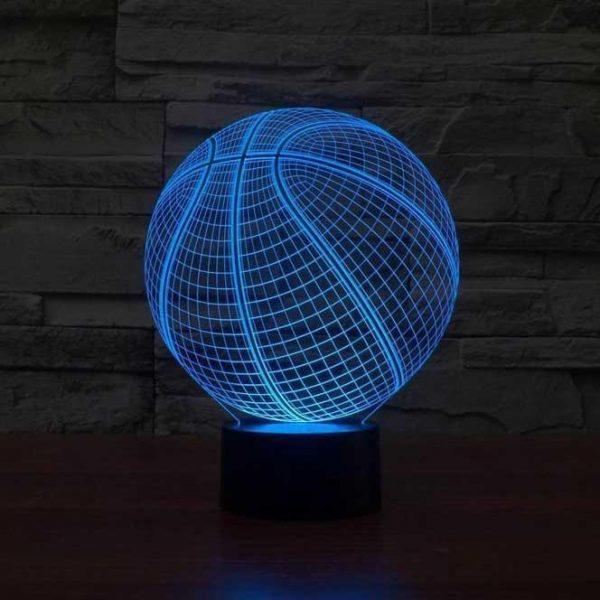 Basketball 3D Illusion Led Lamp