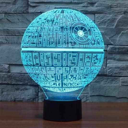 Death Star 3D Illusion Led Lamp