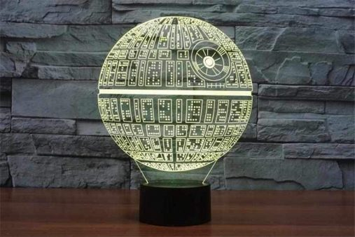 Death Star 3D Illusion Led Lamp