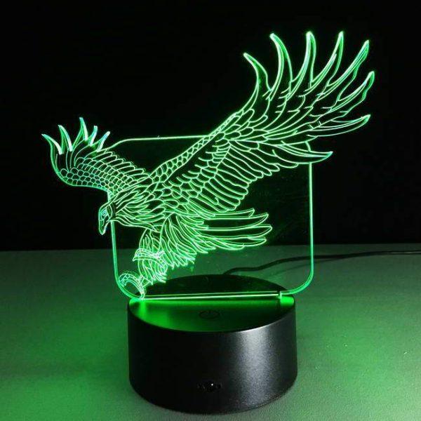 Eagle 3D Illusion Led Lamp