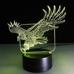 Eagle 3D Illusion Led Lamp