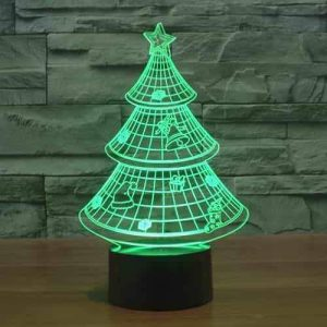 Christmas Tree 3D Illusion Led Lamp