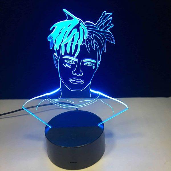 XXXTentacion 3D Illusion Lamp